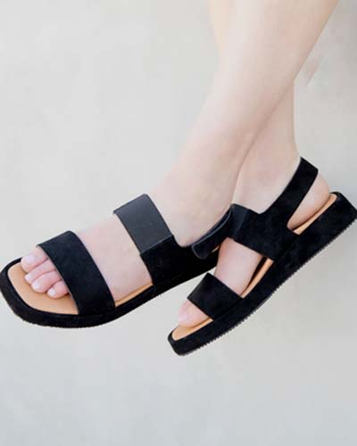 Metallic comfort sandals sneakers flats wedges and slides by L'Amour Des Pieds